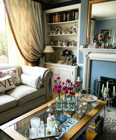 Shabby and Charming: A fine house in Somerset belonging to Anita