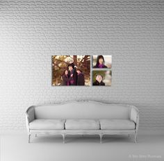 Beautiful example of the couch template in use. Template available from www.arianafalerni.com/design