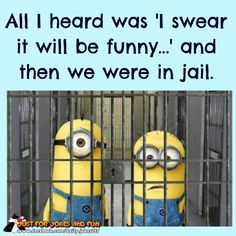 tyler+trevor right there. be careful u 2 Funny Cute, Haha Funny, Funny Memes, Hilarious, Funny Stuff, Minion Jokes, Minions Quotes, Minion Pictures, Funny Pictures