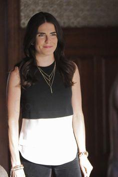Laurel Castillo wearing A.L.C. Palmer Knit