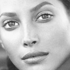 """a-state-of-bliss: """"Christy Turlington """""""
