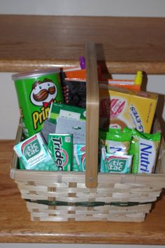St. Patrick's Day Gift basket - Robyn's Perfectly Ordinary Life