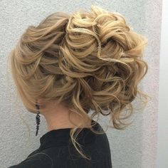 Messy updo wedding hairstyle ,Bridal updo hairstyle ideas #weddinghair #halfbraid #hairstyle #bridalhair #weddinghairstyles #updohairstyle