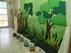 decoracion de bibliotecas infantiles el bosque - Buscar con Google