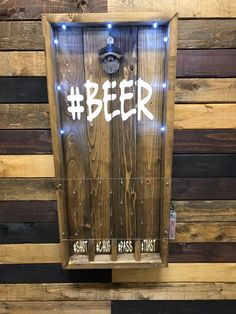 Geschenke Hashtag Beer Plinko Style Bottle Opener Drink Game Etsy How to buy Rugs Article Body: Poin Man Cave Room, Man Cave Home Bar, Diy Father's Day Gifts, Father's Day Diy, Wood Projects, Woodworking Projects, Diy Bottle Opener, Selling Handmade Items, Cornhole