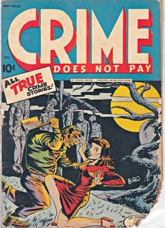 Crime Comics, Horror Comics, Old Comics, Marvel Comics, Old Comic Books, Biro, Classic Comics, Pulp Art, True Crime