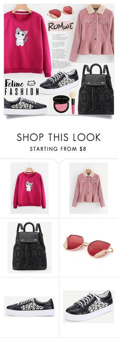 """""""The Cat's Meow: Feline Fashion"""" by samra-bv ❤ liked on Polyvore featuring Bobbi Brown Cosmetics"""