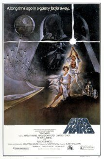 Star Wars 1977 (Mark Hamill, Harrison Ford, Carrie Fisher) Luke Skywalker leaves his home planet, teams up with other rebels, and tries to save Princess Leia from the evil clutches of Darth Vader. Star Wars Film, Star Wars Poster, Star Wars Episódio Iv, Iconic Movie Posters, Iconic Movies, Great Movies, Imdb Movies, Movies Free, Science Fiction