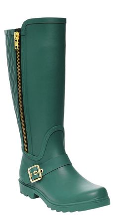 """Don't get caught in the rain without a good pair of rainboots. 