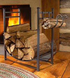 LOVE THE FIRE WOOD STAND!!