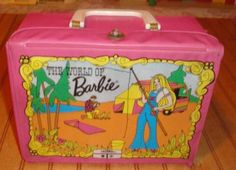 1972 1973 Mod The World of Barbie King Seely Thermos Vinyl Lunchbox Lunch Box Only | eBay Mattel