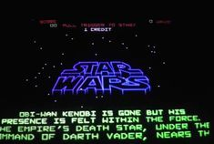 5 Fascinating Facts About Atari's Star Wars Retro Arcade, Death Star, Obi Wan, Retro Toys, Do You Remember, Arcade Games, Fun Facts, Video Games, Star Wars