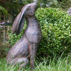 Stargazing Hare Sculpture