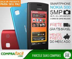 Smartphone Nokia 500 o Menor Preço | Menos Preço