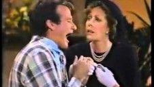 Carol Burnett And Robin Williams at the Funeral