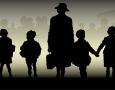BBC - History - World Wars: Movies: Evacuees One in a series of five movies that tell the stories of those caught up in the maelstrom of World War Two. Bbc History, World History, World War 2 Display, Legacy Projects, Year 6, History Projects, Remembrance Day, Silhouette Art, World War Two