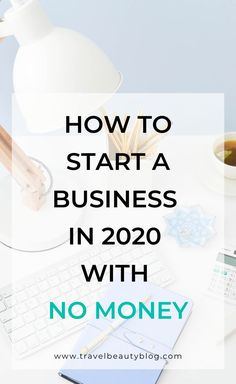 A question you probably asked yourself at least once before is how to start a business with no money? Is it even possible to start a business without money? Work From Home Jobs, Make Money From Home, How To Make Money, Business Marketing, Business Tips, Marketing Plan, Business Coaching, Marketing Strategies, Content Marketing