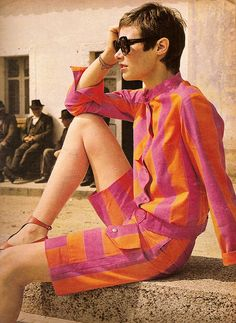French Elle 1970 by Classic Style of Fashion (Second), via Flickr