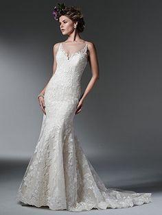 Silvia Wedding Dress by Maggie Sottero   alt 1