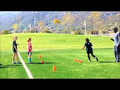 Essential Drill for Defensive Soccer Players - YouTube