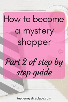 How to become a mystery shopper - part Earn money from home mystery shopping as a side hustle. make extra income to help you save money, pay off debt and budget better. Earn Money From Home, Earn Money Online, Make Money Blogging, Money Saving Tips, Managing Money, Money Tips, Ways To Save Money, How To Make Money, How To Become