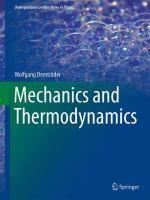 Mechanics and thermodynamics / Wolfgang Demtröder