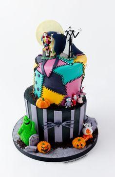 Christmas Birthday Cake, Christmas Baby Shower, Christmas Cakes, 8th Birthday, Birthday Ideas, Bolo Halloween, Halloween Jack, Halloween Cupcakes, Cake Original