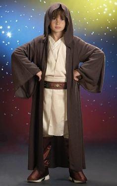 STAR WARS COSTUMES: : Star Wars Jedi Robe Child Costume for $36.99.