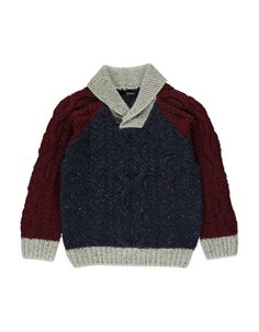 Colour Block Shawl-Neck Jumper | Boys | George at ASDA