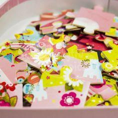 Dřevěné puzzle - Vilac - Květinová princezna - 54 dílů Sprinkles, Candy, Sweets, Candy Bars, Chocolates