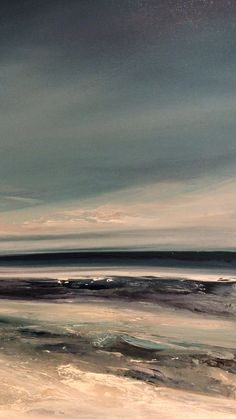 New original semi abstract seascape painting by British artist Michael Claxton. Now available! Message for more details #homedecor #artforthehome #michaelclaxtonartist