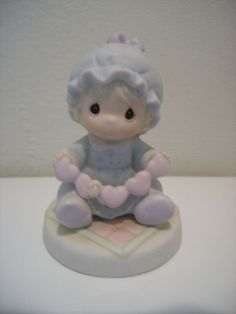 """1996 Precious Moments """"You have Touched So Many Hearts"""" Figurine"""