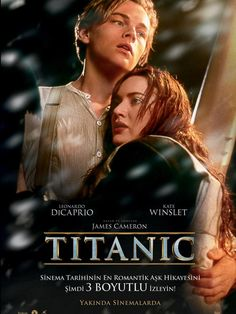 Watch the movie trailer for Titanic on Movie-List. Directed by James Cameron and starring Leonardo DiCaprio, Kate Winslet, Billy Zane and Kathy Bates. A boy and girl from differing social backgrounds meet during the ill-fated maiden voyage of RMS Titanic. James Cameron, Billy Zane, Beau Film, Film Music Books, Music Tv, Old Movies, Great Movies, Awesome Movies, Funny Movies