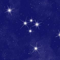 Cancer Stars Print Close Up