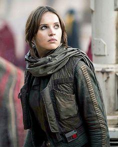 "anakinskywkler: ""Jyn Erso in Rogue One: A Star Wars Story """