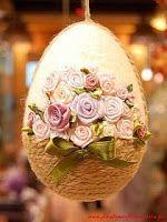 Easter egg very nice Easter Egg Crafts, Easter Projects, Easter Bunny, Easter Eggs, Spring Crafts, Holiday Crafts, Holiday Decor, Easter Parade, Egg Art