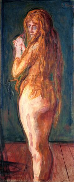 Nude with Long Red Hair Edvard Munch 1902