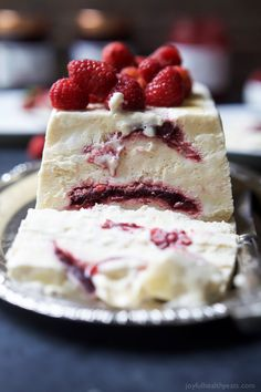 Indulgent Raspberry Amaretto Semifreddo, it's everything ice cream wishes it could be - light, creamy, and airy. This dessert is perfect for the…