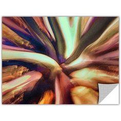 Dean Uhlinger Espectro Suculenta, Art Appeelz Removable Wall Art Graphic, Size: 36 x 48, White