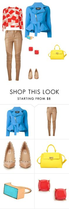 """""""simple styling"""" by viviseemore ❤ liked on Polyvore featuring Dsquared2, Balmain, Valentino, Salvatore Ferragamo, Ginette NY and BP."""