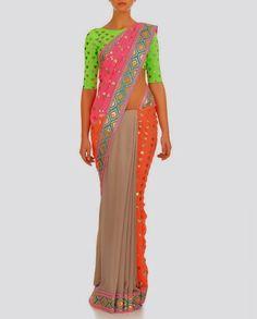 Manish Arora Indian Dresses Summer time 2014 – She9 | Adjust the Life Style - FASHIONPAB