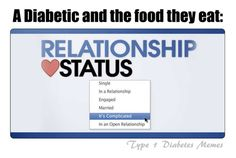 the love-hate relationship of diabetes & food