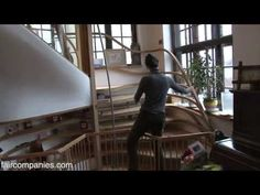 Family grows home with CNC-milled shedworking indoor cabin - YouTube