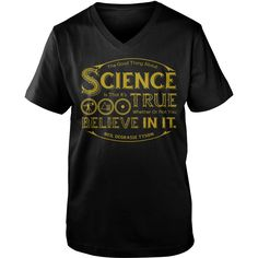 Neil deGrasse Tyson the good thing about science guy v-neck