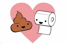 I actually think that the little poop is cute lol Paper Wallpaper, Love Wallpaper, Potty Training Humor, Friends Poster, Kawaii Doodles, Best Love Stories, Cat Behavior, Cartoon Games, Bathroom Art