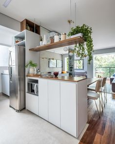 Fabulous Modern Kitchen Sets on Simplicity, Efficiency and Elegance - Home of Pondo - Home Design Kitchen Room Design, Kitchen Sets, Modern Kitchen Design, Living Room Kitchen, Home Decor Kitchen, Interior Design Kitchen, Home Kitchens, Kitchen Trends, Minimalist Kitchen