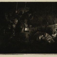 Rembrandt, Aanbidding door de herders (B 46), 1652. Teylers Museum