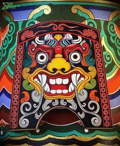 Focus: Korean Mythology | Mythology & Cultures Amino Korean Traditional, Traditional Art, Traditional Tattoo, Korean Mythology, Korea Tattoo, Goblin Art, Asian Artwork, Korean Painting, Korean Design
