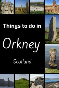The Orkney Islands are located North of Scotland. They are home to many ancient sites including Stone Rings (Ring of Brodgar, Stenness), neolithic villages (Skara Brae) and chambered cairn. Nature is also well preserved with beautiful sea cliffs, white sa