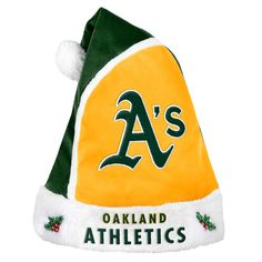 Forever Collectibles Oakland Athletics 2015 MLB Santa Hat